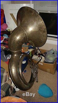 1920s monster Buescher BBb Sousaphone