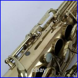 1922 Conn New Wonder Series I Alto Saxophone Sax Low Pitch Rolled Holes