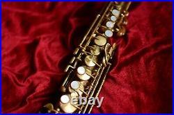 1924 King Saxello Soprano Saxophone! Beautiful instrument