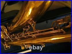 1926 Conn New Wonder Series II Gerry Mulligan Model Bari Sax