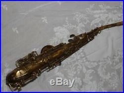 1932 Selmer Super Sax Cigar Cutter Alto Saxophone #168XX, Original Laquer