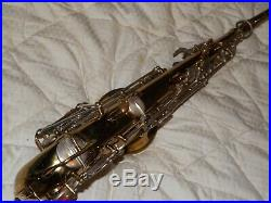 1933 Selmer Super Cigar Cutter Alto Saxophone #184XX, Plays Great on Recent Pads