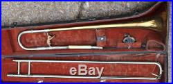 1935 Olds Super Trombone with Bear Counterweight & OHSC Los Angeles Calif
