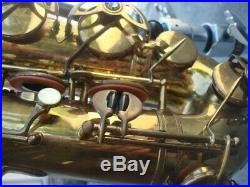 1938 Selmer Balanced Action Tenor Saxophone Artist Owned -Benny Goodman's Band