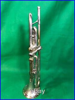 1943 Olds Super Silver Trumpet