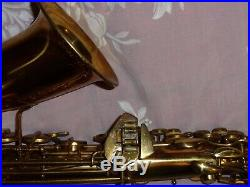 1946 Conn 6m Alto Saxophone, Plays Great on Correct Conn Reso-Pads, Nice