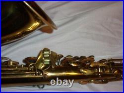 1947 Conn 10m Tenor Sax/Saxophone, Original Laquer, Flat Metal Resonators, Nice