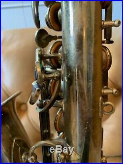 1953 Selmer Paris Super Balanced Action Alto Professional Saxophone with Orig Case
