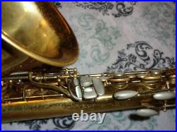 1954 King Super 20 Tenor Sax/Saxophone, Original Laquer, Recent Pads Complete