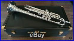 1957 E. Benge BURBANK Resno Tempered Bell, Calif. USA GAMONBRASS trumpet