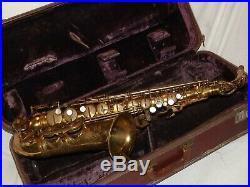 1957 Selmer Mark VI Alto Saxophone M69XXX, Recent Pads Complete