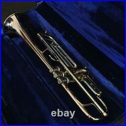 1958 Bach Stradivarius Mt Vernon N. Y GOLDBRASS 37 Bell GAMONBRASS trumpet