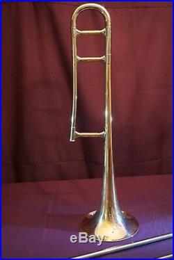 1959 FE Olds R-15 Recording Professional Tenor Trombone-Fullerton Calif