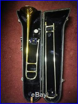1959 Olds Recording Trombone with original Olds mouthpiece