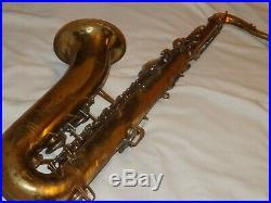 1963 Buescher 400 Tenor Saxophone, Snap Pads, Norton Springs, Plays Great
