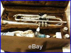 1963 Selmer Paris Trumpet. 460 Bore Silver Plated