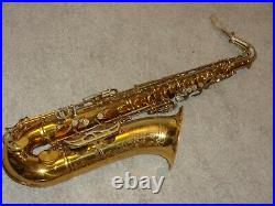 1964 King Super 20 Tenor Sax/Saxophone, Original Laquer, Plays Great, Nice