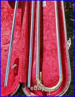 1965 King 3B Concert Silver Sonic Trombone Cleveland Ohio