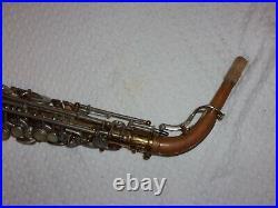 1969 Buescher 400 Alto Saxophone, Norton Springs, Snap Pads, Plays Great
