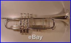 1970s Bach Stradivarius Model 72 Silver Trumpet 72 Lightweight Bell