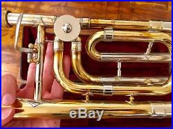 1978 Vincent Bach Stradivarius 42 Professional Trombone withF Trigger Attachment