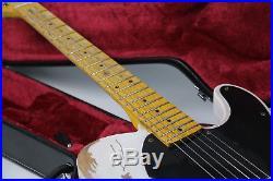 2018 100% Handmade Relic TL Electric Guitar Eged Hardware ASH Body Brass Saddles