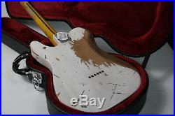 2019 100% Handmade Relic TL Electric Guitar Eged Hardware ASH Body Brass Saddles