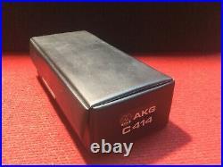 AKG 414 Microphone vintage original CK12 BRASS capsule rare