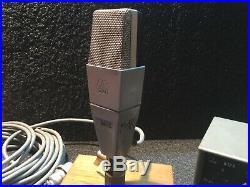 AKG C12A microphone TUBO CK12 Brass vintage. S/N 0518