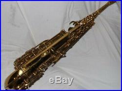Amazing 1947 Conn 6m Alto Saxophone #322XXX, Closet Queen, Plays Great