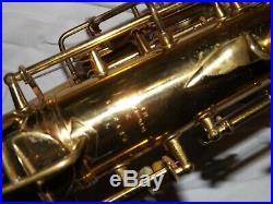 Amazing 1947 Conn 6m Alto Saxophone #322XXX, Closet Queen