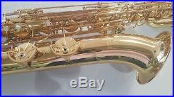 Andreas Eastman Baritone Saxophone brand new EBS-640GL Low A High F#