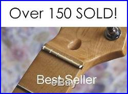AxeMasters 1 11/16 BRASS NUT made for WARMOTH NECK Fender Strat Tele