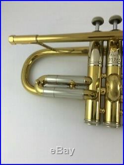 BACH EARLY ELKHART Stradivarius Trumpet C/Bb