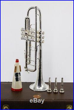 Bach 180S37 Stradivarius Series Bb Trumpet with Case & Accessories Used