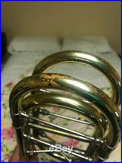 Bach Bass Trombone Model 50B Bell Section with Shires Thayer Valves