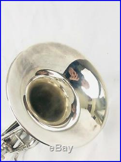 Bach CL Key of C Stradivarius Trumpet with256 Bell 431xxx Perfect Player