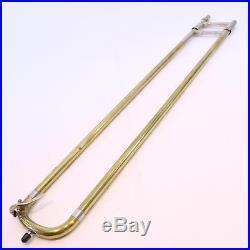 Bach Model 34 Mount Vernon Stradivarius. 522 Bore Trombone SN 6896 NICE