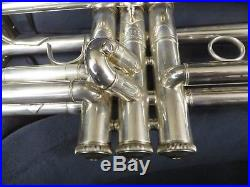 Bach Stradivarius 180S Silver Bb Trumpet with New Artisan Bell & Case #PTR16