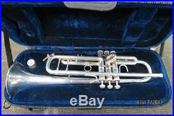 Bach Stradivarius 37 ML Silver Trumpet