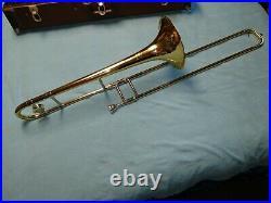 Bach Stradivarius 42 Bb Large Bore Trombone PROFESSIONAL w Original Hard Case