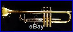 Bach Stradivarius Bb Trumpet New York, N. Y. Strad Case & Case Cover