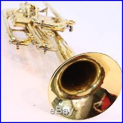 Bach Stradivarius Model 182 Professional Flugelhorn SN 129726 GOLD PLATE WOW