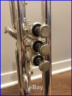 Bach Stradivarius Model 37 Professional Trumpet- Silver