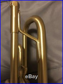 Bach Stradivarius Trumpet 72 Corporation Bell Brushed Lacquer
