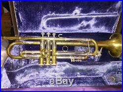 Bach Stradivarius Trumpet NY VINTAGE Model 26-59 (bell/bore). Serial 3226