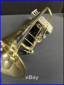 Bach Stradivarius Trumpet from 1965 Model 37 ML Bore Raw Brass