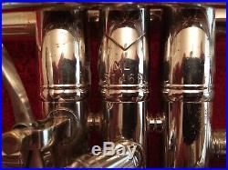 Bach stradivarius trumpet 37 silver with original case