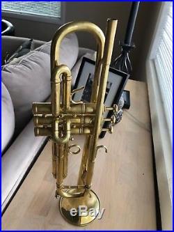 Benge Claude Gordon Raw Brass Trumpet