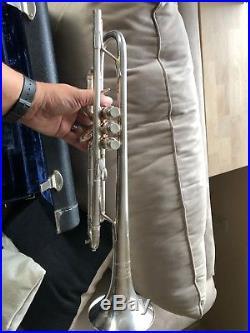 Benge Claude Gordon Silver Trumpet